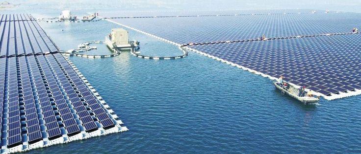 InfoNavWeb Informação, Notícias,Videos, Diversão, Games e Tecnologia. : China estreou a maior central de energia solar mar...