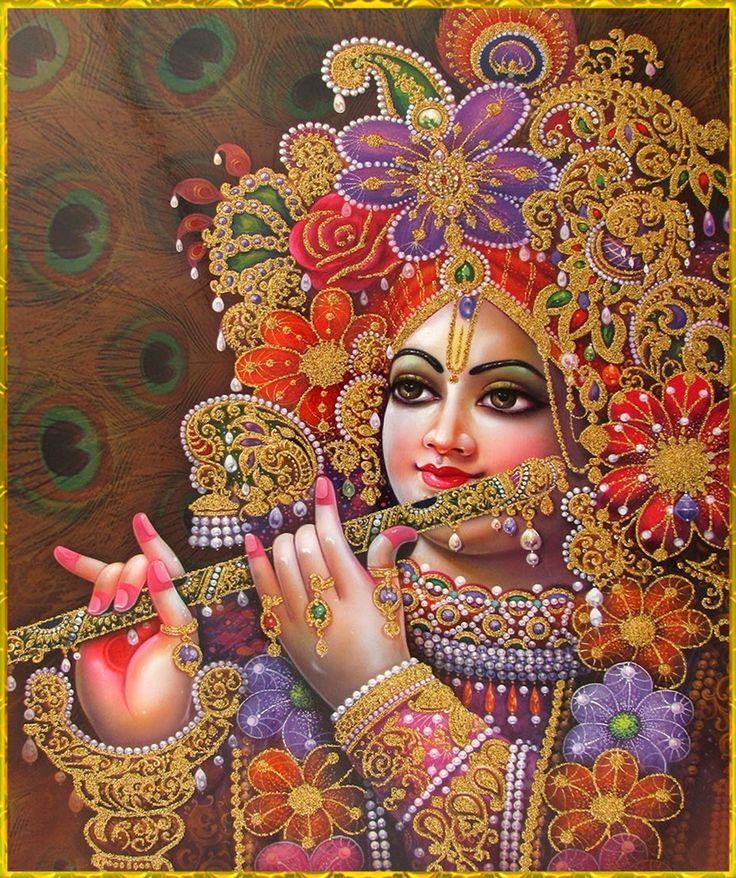 "☀ SHRI KRISHNA ☀ ""Krishna is the linguist of all wonderful languages. He is a truthful and very pleasing speaker. He is expert in speaking, and He is a very wise, learned scholar and a..."