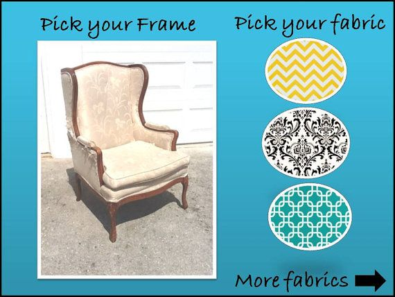 Awesome Accent Chair Design Your Own Chair By Urbanmotifs On Etsy, $600.00