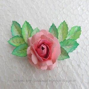 KAARTEN, Ambachten, Kids Projecten: Handgemaakte bloem Tutorials