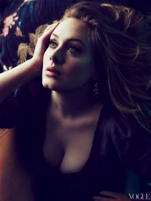 Adele in Vogue.: Vogue, Girls Crushes, Style, Quotes, Inspiration Woman, Things, Beautiful People, Photo, Adele