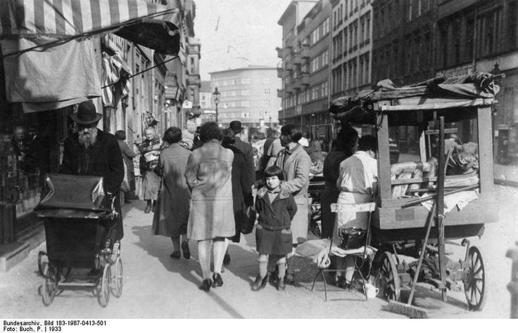 The Scheunenviertel in Berlin