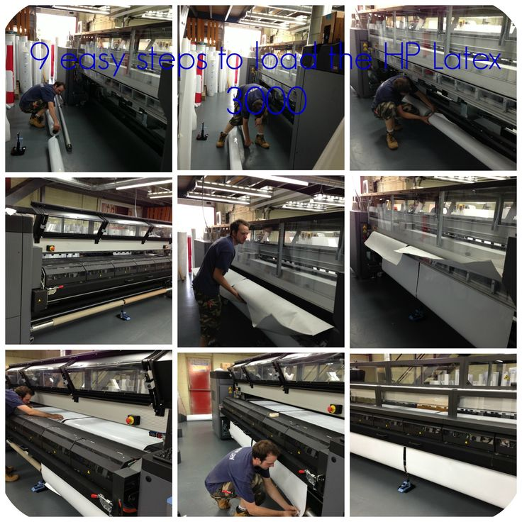 Loading the new HP Latex 3000 in just 9 easy steps www.presson.co.uk