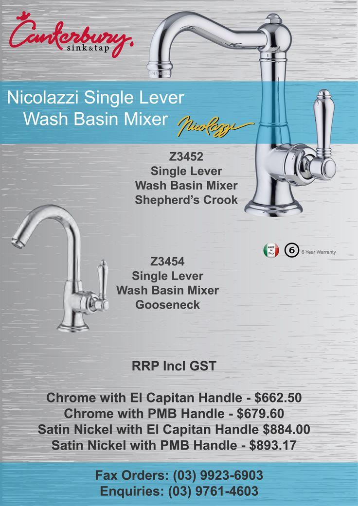 Nicolazzi Single Lever Wash Basin Mixer