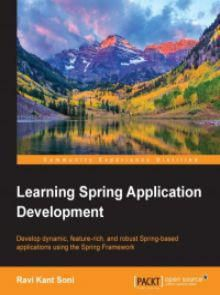Learning Spring Application Development Pdf Download e-Book