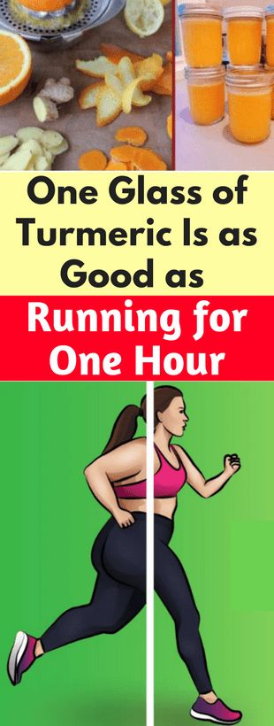 1 Glass of Turmeric Is As Good As Running For 1 Hour!!!!! - All What You Need Is Here