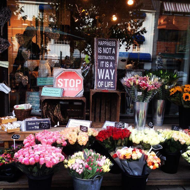 Blomster butikken utsiden