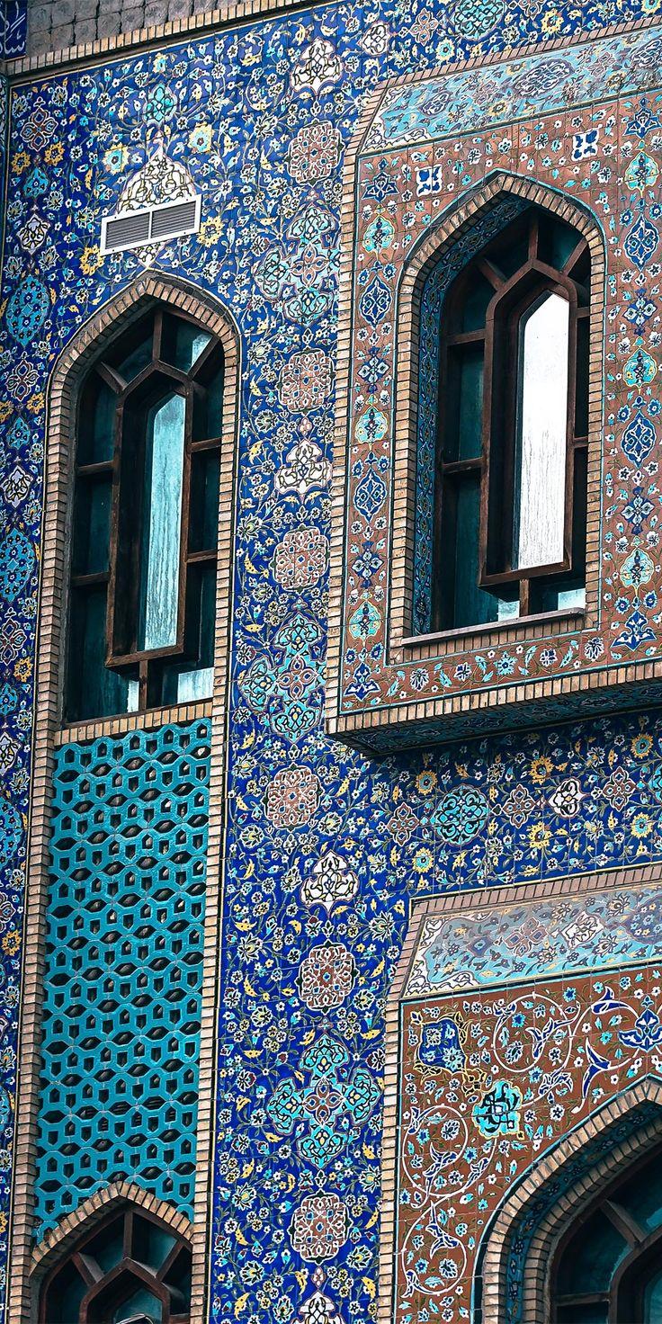 Iranian Mosque Dubai Smartphone Wallpaper Islamic