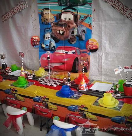Cars theme party hire packages for kids in Perth, WA