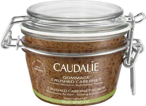 Caudalie Crushed Cabernet Scrub 5.3 oz by Caudalie. $23.95. Leaves skin wonderfully smooth and nourished.. Caudalie Crushed Cabernet Scrub û 5.3 oz.With its coarse granules, Caudalie Crushed Cabernet Scrub leaves the skin ultra soft and nourished. A real booster to the slimming regimen, it contains the 6 draining and cellulite-fighting organic essential oils of the Contouring Concentrate. It is for all who seek a strong exfoliation coupled with a slimming action.Slimming actionS...