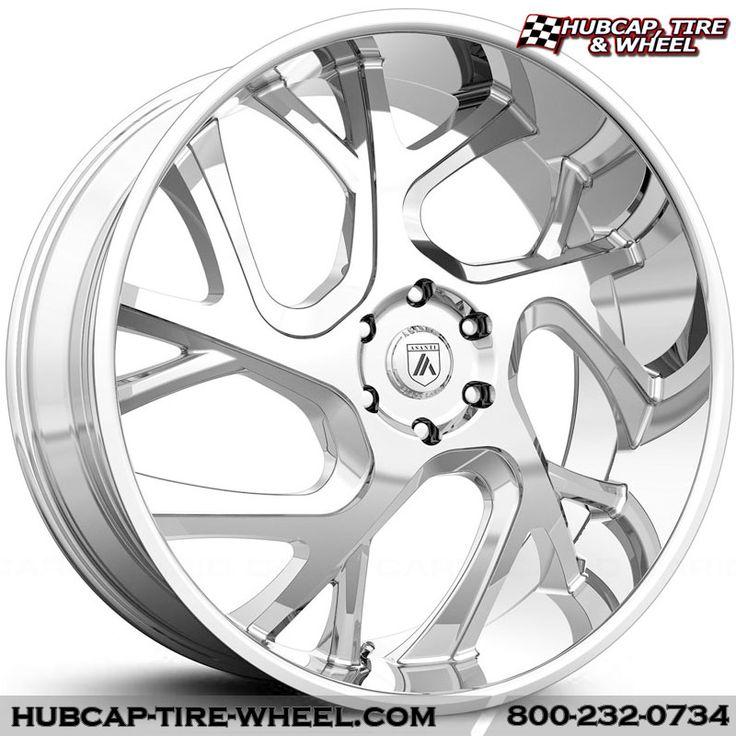 Asanti Black Label ABL-16 Chrome Wheels Rims