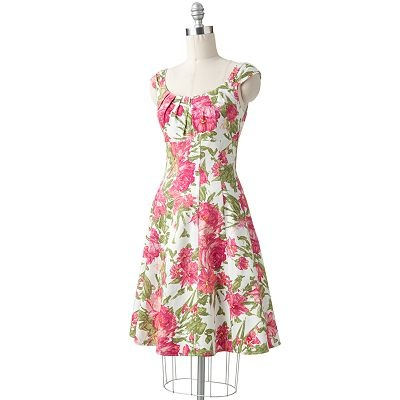Suite 7 Floral Pintuck Empire Dress  I love this dress--I own it!Pretty Dresses, Dresses Sales, Empire Dresses, Dresses I, Fashion Inspiration, Kohls, Floral Dresses, Fashion Sense, Fashion Favorite