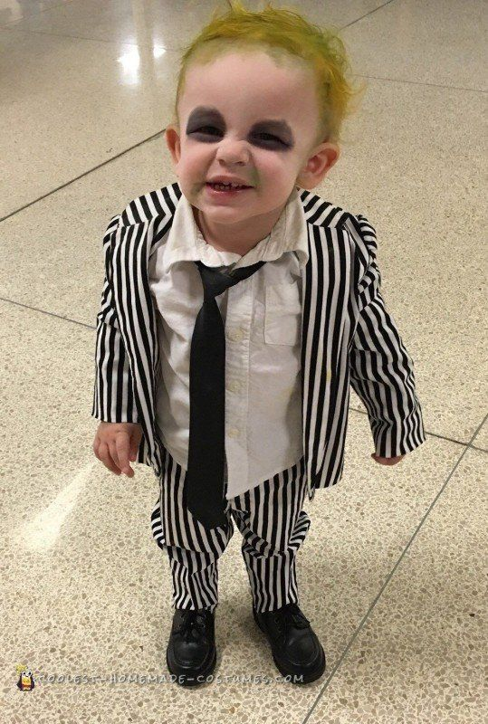 Coolest Baby Beetlejuice Costume Beetlejuice Halloween Costume Beetlejuice Costume Toddler Beetlejuice Costume