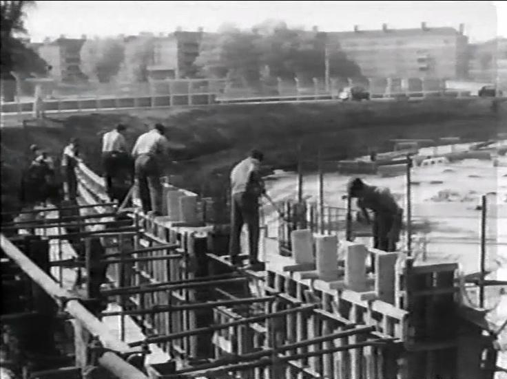 Construction of BBC Television Centre, 1951-1960 -