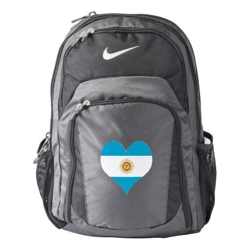 Argentina flag backpack