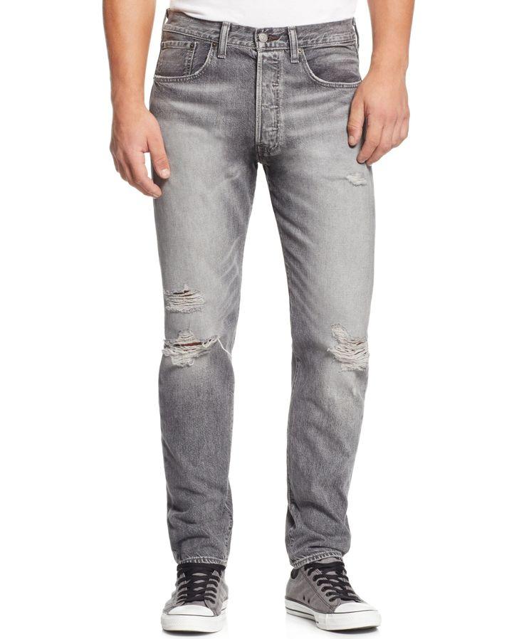 Levi's 501 Ct Fit Jeans, Lawson Repair Wash