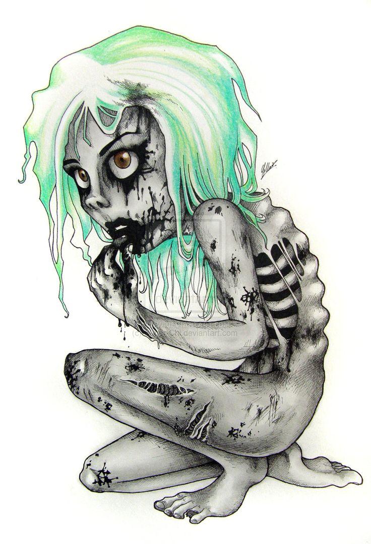 Skeleton Pin Up Girl Drawing - Google Search  Tattoos -1612