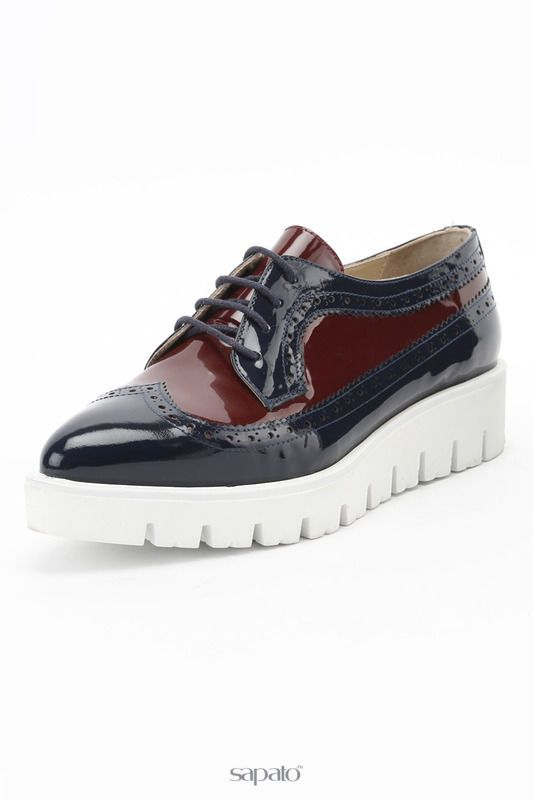 Купить синие ботинки Полуботинки в интернет-магазине Sapato