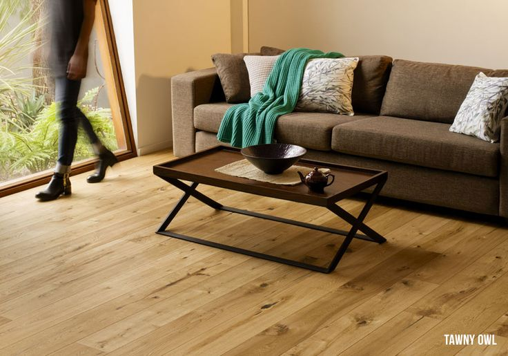 Heartridge Engineered Timber Flooring in Rustic Oak, Tawny Owl