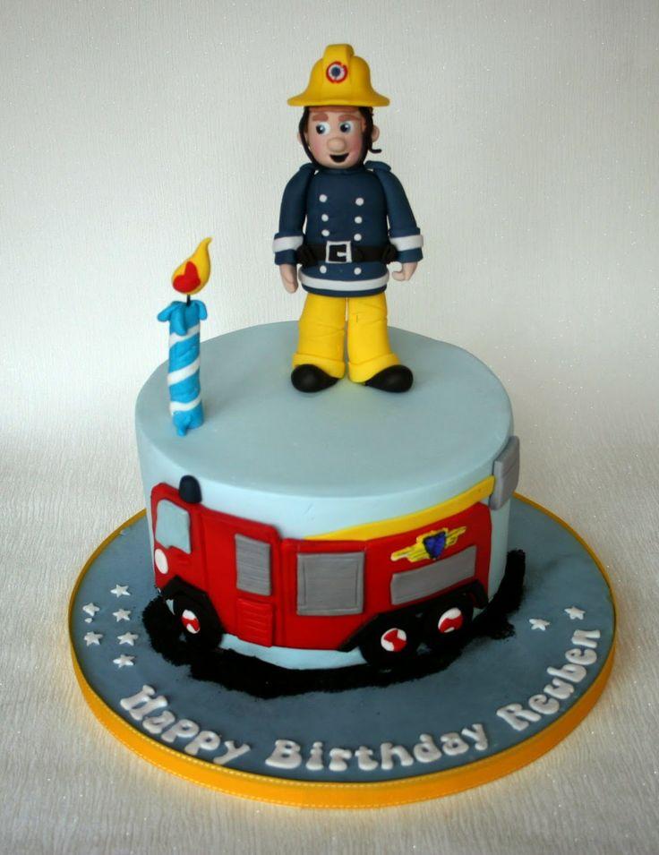 22 Best Fireman Sam Cakes Images On Pinterest Fireman