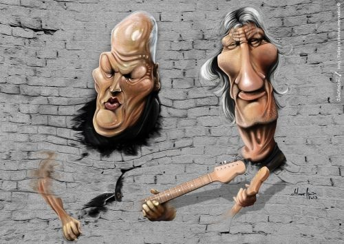 David Gilmour - Roger Waters - Pink Floyd