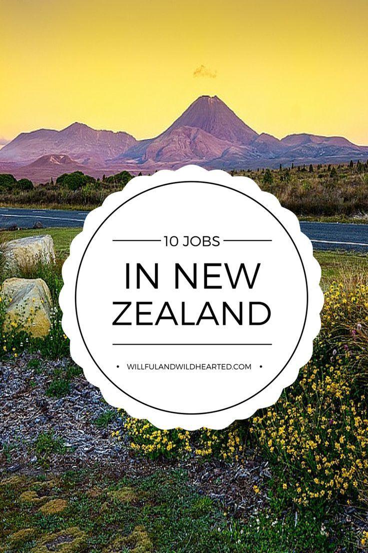 10 Working Holiday Visa Jobs In New Zealand