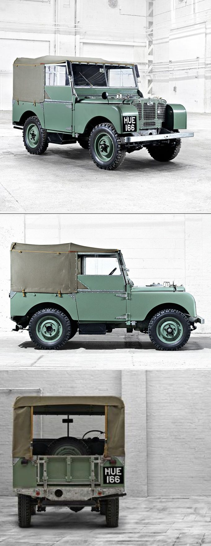 1948 land rover series i hue166 uk green 17 352