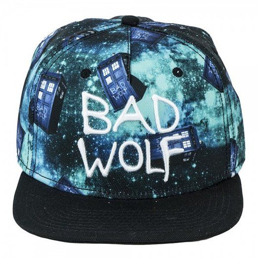 #DoctorWho Bad Wolf Snapback Hat!