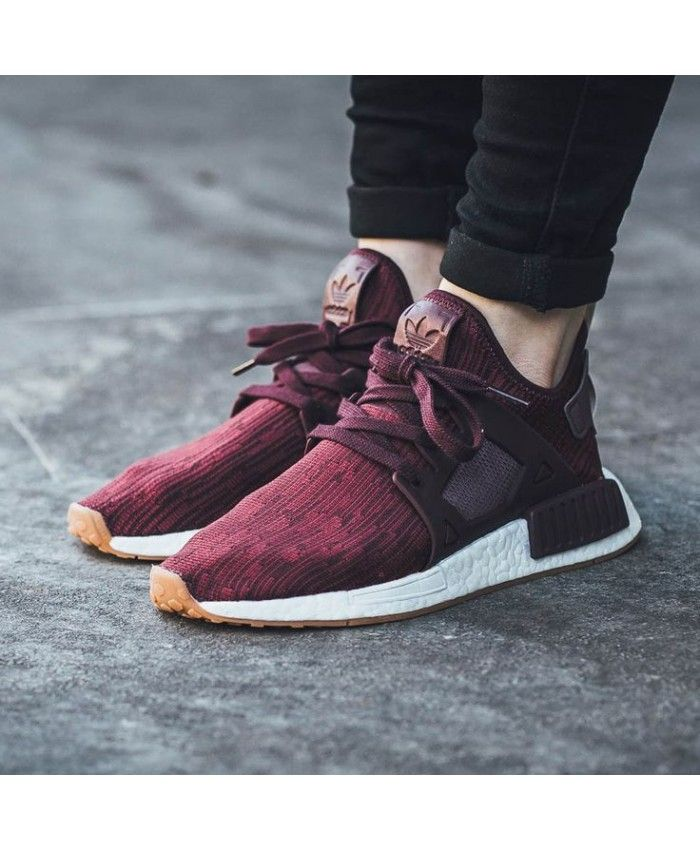 597564c69e116 Adidas NMD Burgundy Mens Dark Purple Shoe