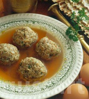 Lajos Mari konyhája - Maceszcombócleves