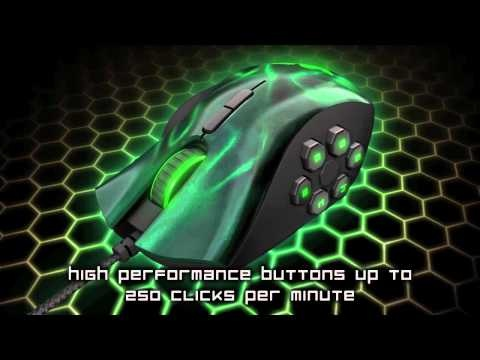 Introducing the Razer Naga Hex, designed for MOBA and Action RPG fans like YOU.