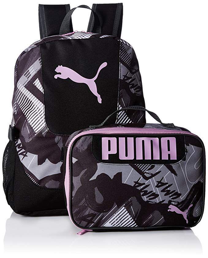 497071fca8f6 PUMA Big Kid s Lunch Box Backpack Combo