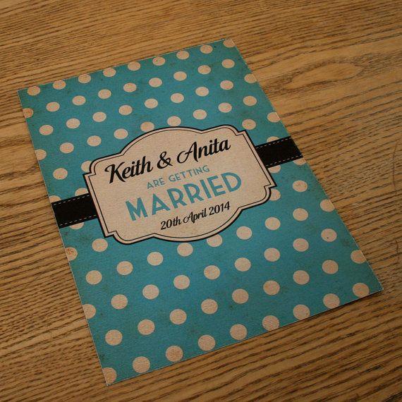 best 25+ retro wedding invitations ideas only on pinterest, Wedding invitations