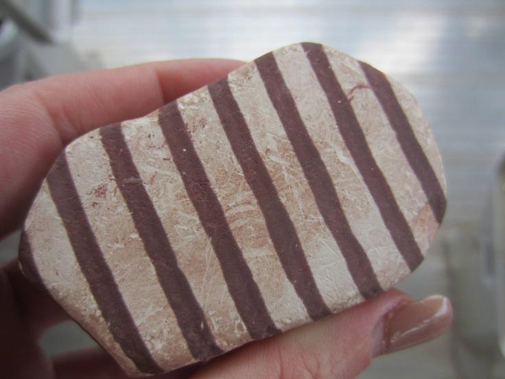 Zebra rock found in the Kimberley region near Kununurra, Western Australia.