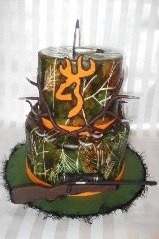 Amazing camo cake