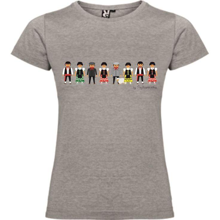 "Diseño de camiseta fiesta regional ""Chiviri"".  Disponibles en www.pepitaspepetes.com"