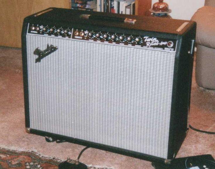 Fender Twin Reverb Mods