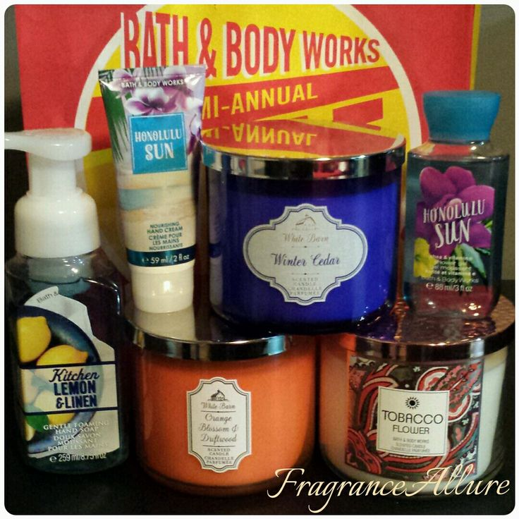 521 Best Bath Amp Body Works Images On Pinterest Bath And