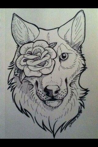 Wolf's are so pretty