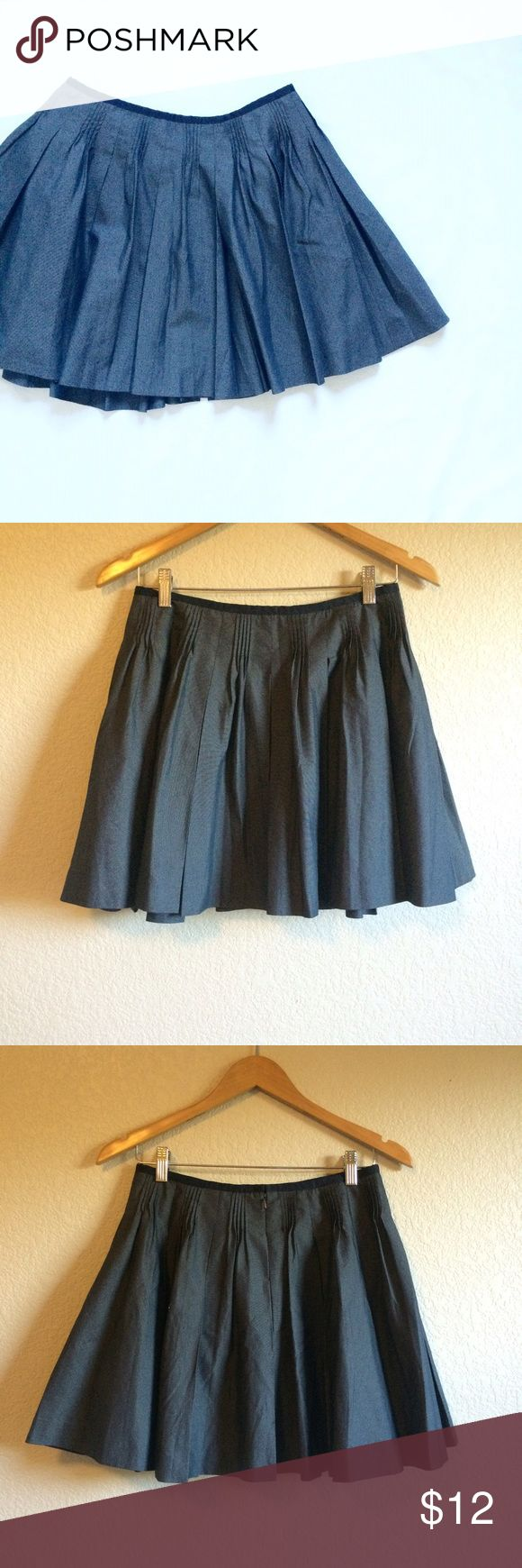 A|X • Skirt This cute pleated skirt looks great dressed up or down. Armani Exchange Skirts Mini