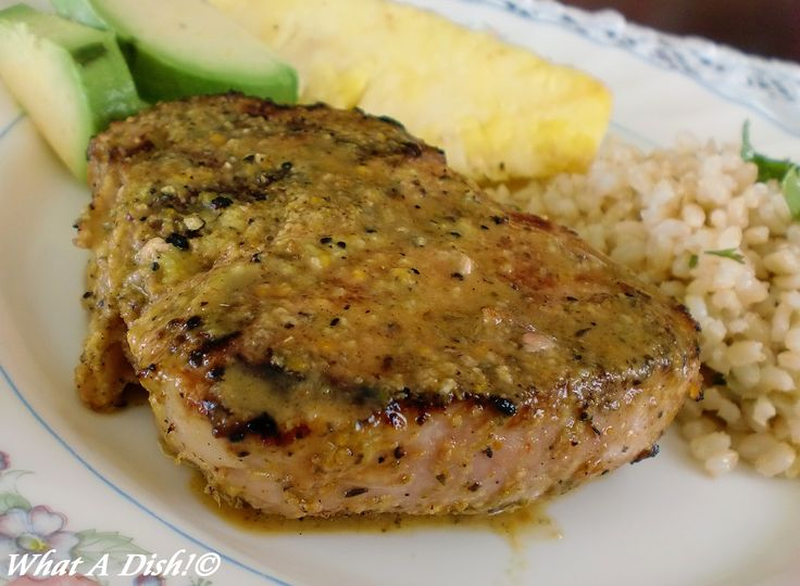 Broiled pork chop recipes center cut