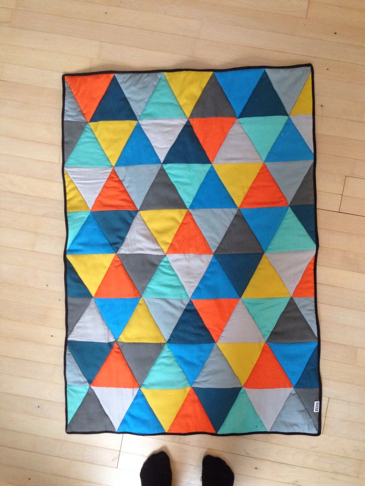 Baby quilt by mm
