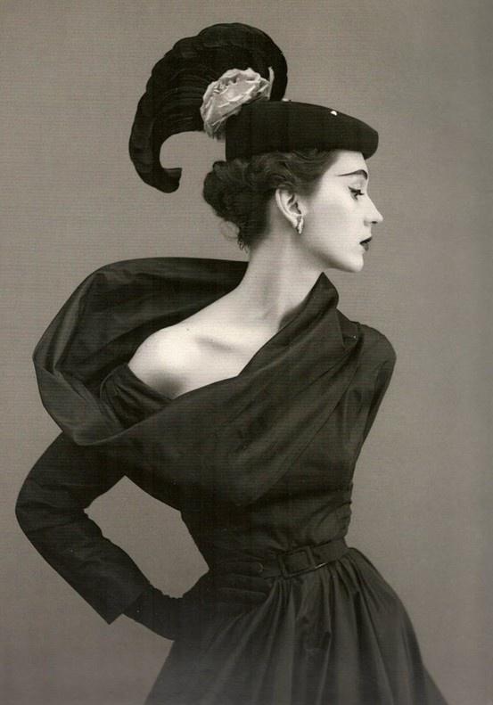 vintage fashion  1950's (?)