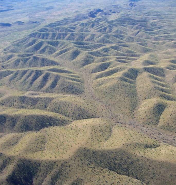 patterns in the ranges near Kununurra
