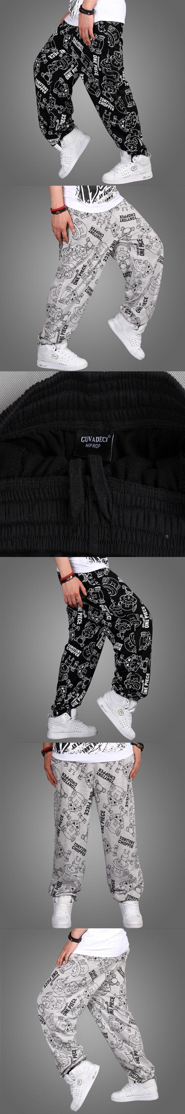 New Fashion Mens Joggers Hip Hop Loose Pants Skateboard Dance Sweatpants Slacks Parkour full length For Mens BOYS PNATS Trousers