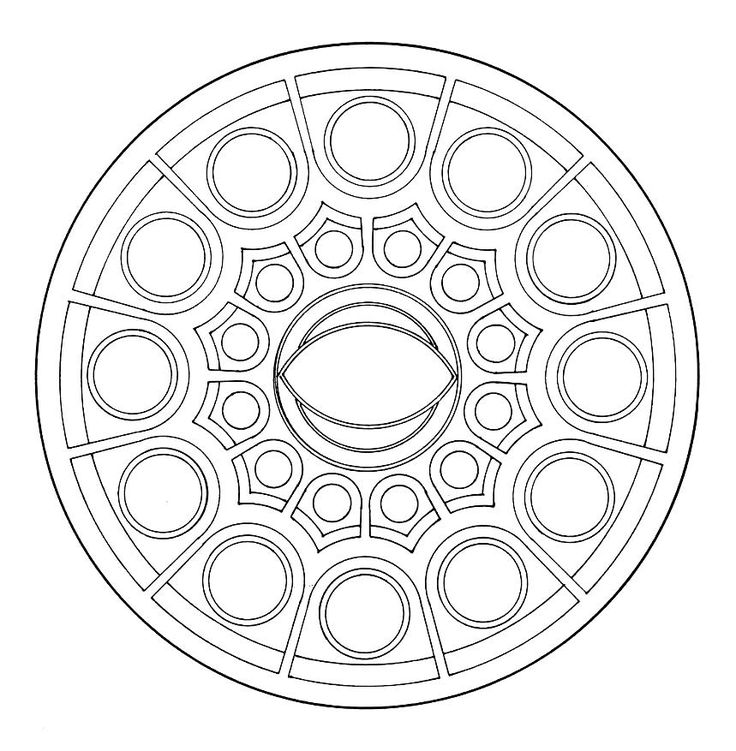 Disegni Mandala Da Scaricare