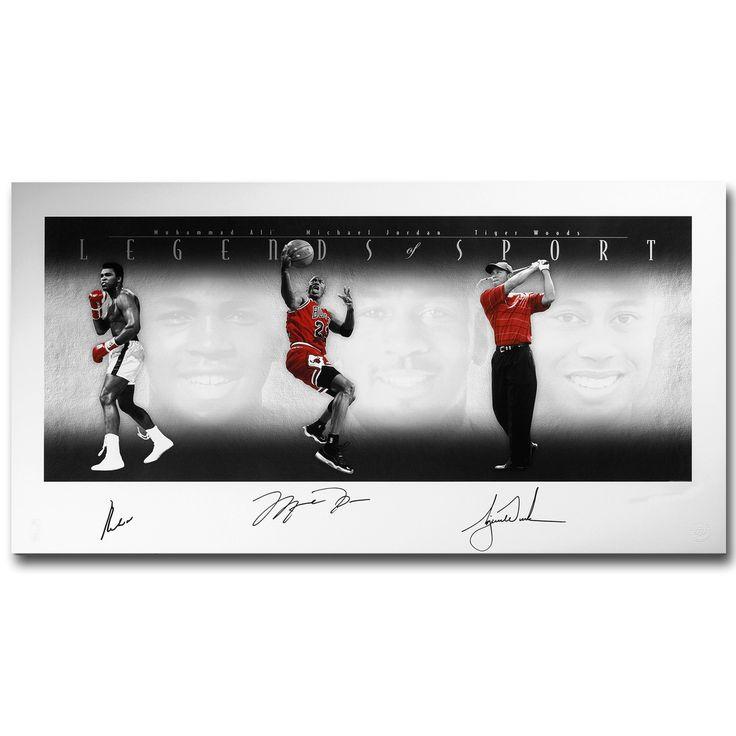 Майкл Джордан Мухаммед Али Искусства Шелковой Ткани Плакат 13x22 24x46 inch Спорт Картины для Комнаты Отделка стен 061