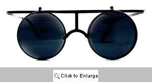 Circle T Flip-Up Sunglasses - 267 Black