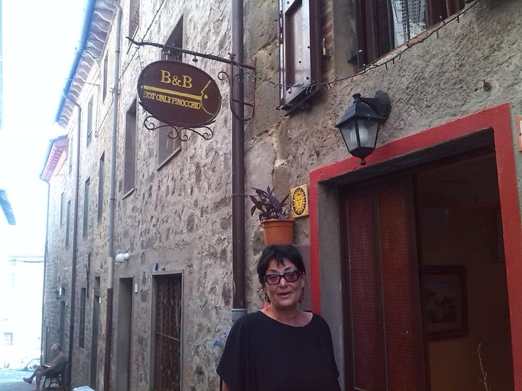 #bedandbreakfast #tuscany I am just wake up in front of my B&B