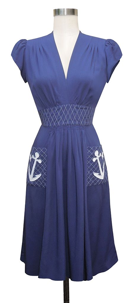 The Trashy Diva Anchor Dress - oh my this sooo pretty, I need one of these :)